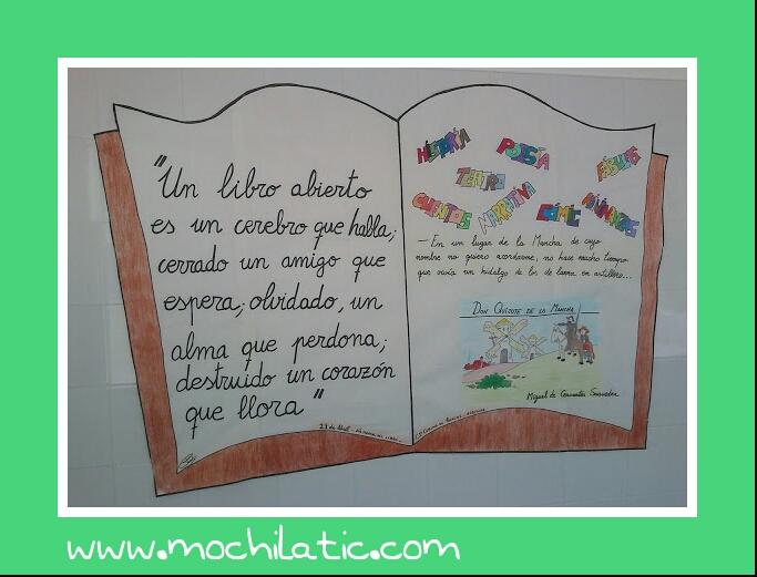 Libro elaborado por alumn@s para su celebración en el colegio.