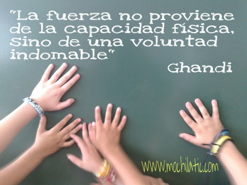 FRASE: Voluntad VS Fuerza